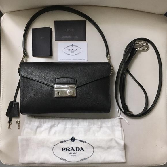 450a335c44c93e Prada Bags | Sold Saffiano Lux Sound Crossbody Bag | Poshmark